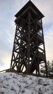 Wieża widokowa obok Osowej Góry