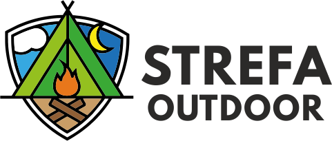 sklep turystyczny strefa outdoor logo