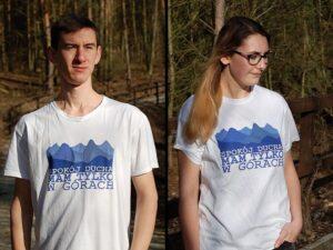 koszulka spokój ducha mam tylko w górach